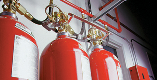 Proshield Fire & Security - Special Hazard Supression Systems - Clean Agent Systems